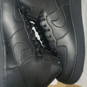 Nike air force 1's hightops